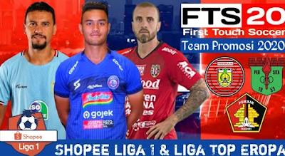 FTS 2020 Mod Shopee Liga 1 Promosi