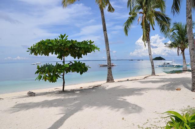 Spiaggia delle Filippine