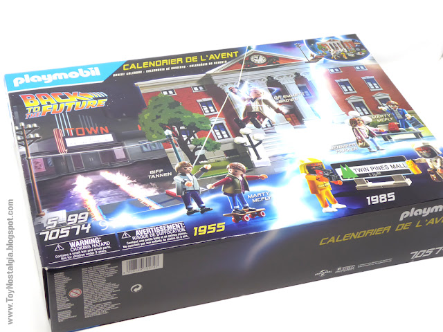 Caja Frente - Playmobil Back To The Future Calendario de Adviento (Playmobil Back To The Future - Calendario de Adviento)
