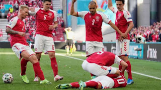 EURO 2020: Christian Eriksen collapses, play stopped between Denmark and Finland