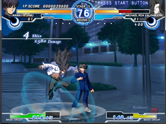 Melty Blood Actress Again PC Games Gameplay