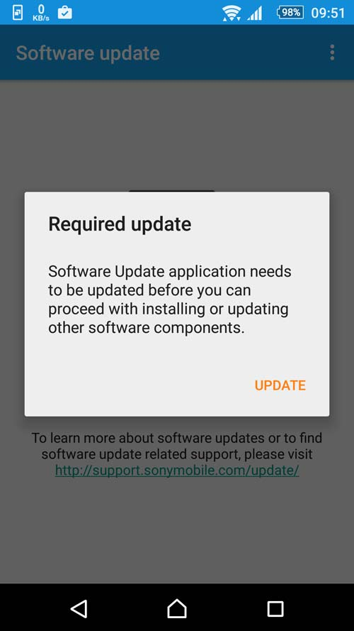Software Update 3.1.1.A.0.4