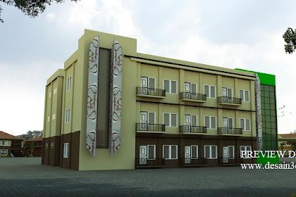 Jasa desain asrama mahasiswa unik menarik