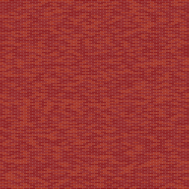 Seamless red brick diffuse colour