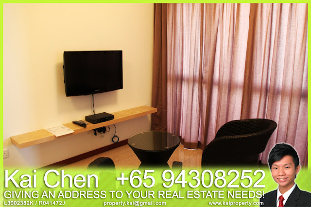 Fortville Service Apartment Singapore - Living