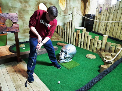 irates Cove Adventure Golf course at the New York Thunderbowl in Kettering
