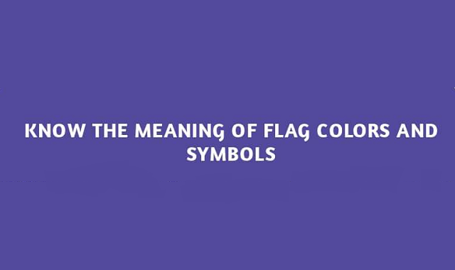Does the flag colors and symbols have hidden meanings? Let's find out