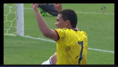 Video goles: Colombia-3 ·1 Ecuador