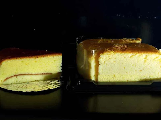 slices of two different cheesecakes made in Japan