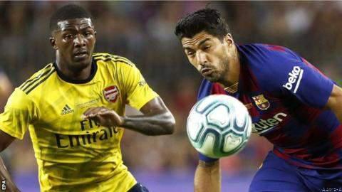 Highlight: Late Suarez Goal Helps Barca Beat Arsenal