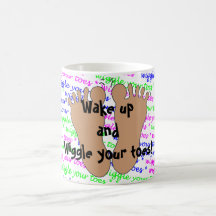 Wiggle Your Toes Coffee Mug