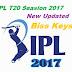 IPL T20 Seasion 2017 New Updated Biss Keys