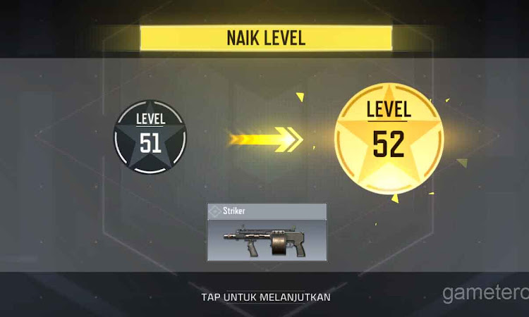 Tips naikan level dengan cepat  di game COD Mobile