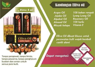 Produk Minyak Varash Elliva Oil dan Black Mayva Soap