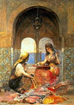 Подборка картин «Восточные красавицы в живописи»