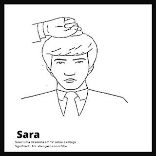 Sinal de Sara da bíblia