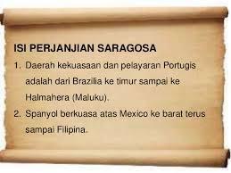 Perjanjian Saragosa