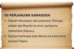 Perjanjian Saragosa : Sejarah, Latar Belakang, Isi dan Dampaknya (1534)