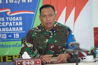 Danrem 162/WB Brigjen TNI Ahmad Rizal Ramdhani, S.Sos. SH. M.Han