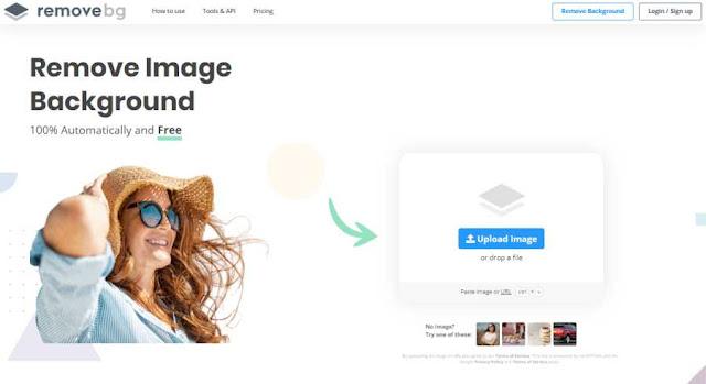 Cara Mengubah Background Foto Online, Cukup Upload Foto Langsung Jadi