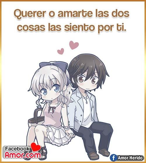 anime amor frases