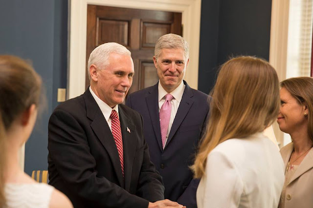 Congratulations to the next Associate Justice of the Supreme Court, Justice Neil Gorsuch