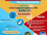 Lomba Menulis Essay dan Puisi Nasional 2019 di Universitas Hamzanwadi