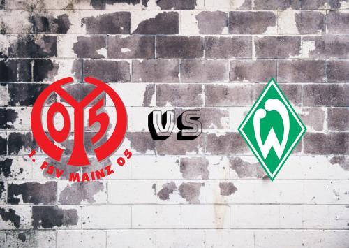 Mainz 05 vs Werder Bremen  Resumen