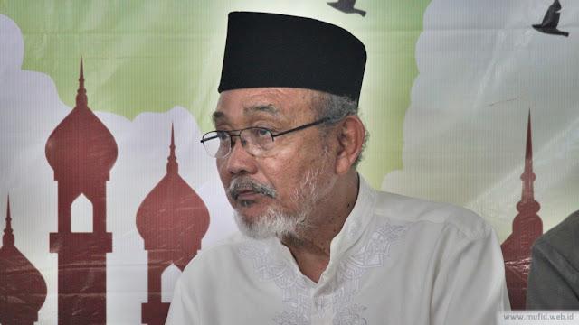 KH Su'ada Rois Syuriah PCNU Cilacap