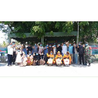 Kolaborasi Pendamping PKH dan Pendamping Lokal Desa dalam Satgas Siaga Covid 19