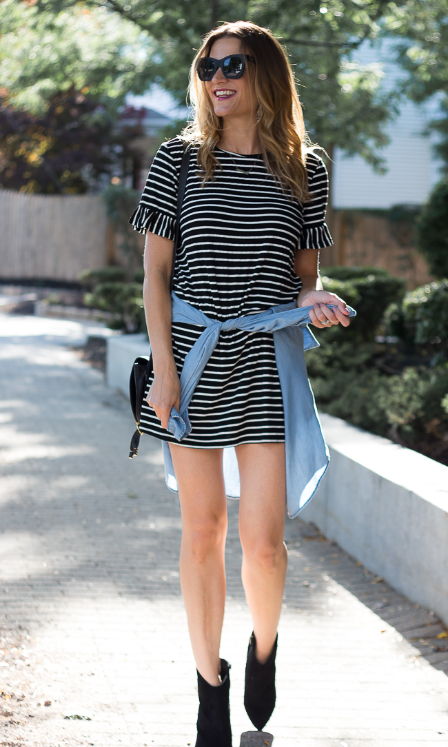 Stripe Dress #stripedress