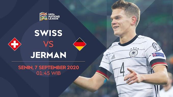 Prediksi UEFA Nations League: Swiss vs Jerman, Bisa Ditonton dari Handphone