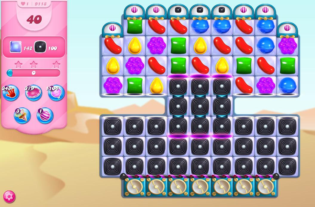 Candy Crush Saga level 9118