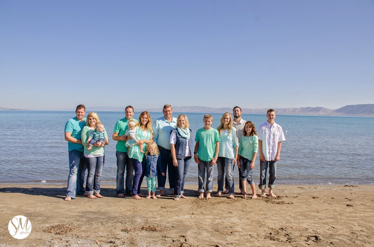 Bear Lake Family Photographer | Muir Family
