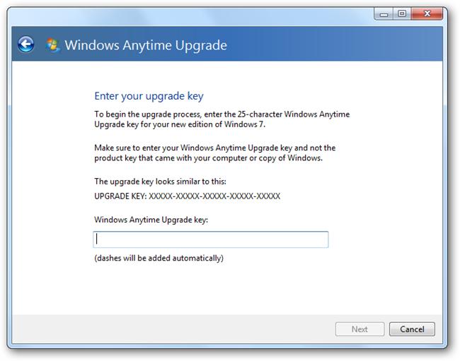 Windows 7 Ultimate Serial Number Upgrade Key