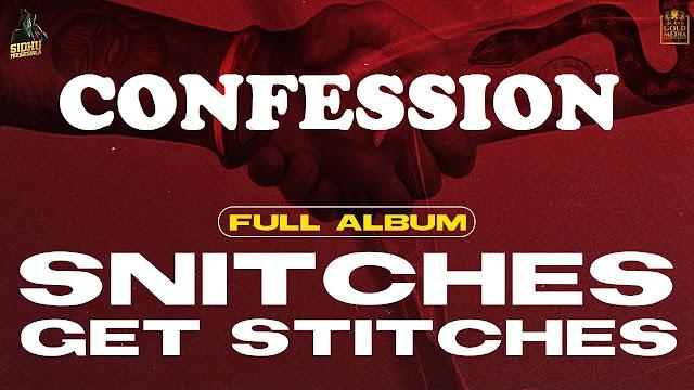 Confession Lyrics - Sidhu Moose Wala