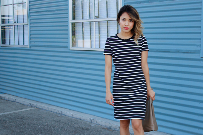 f2d35e5c94e0 Comfy Stripe T-Shirt Dress