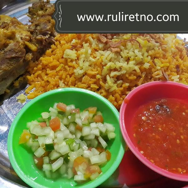 Review depot Abu Nawaf - special masakan Arab di Banjarbaru