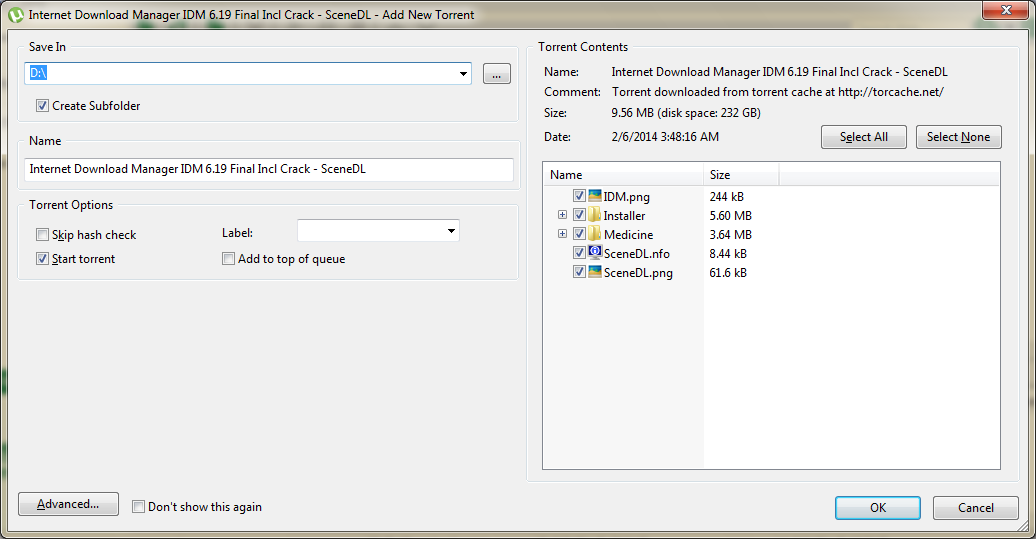 torrent download screenshot2