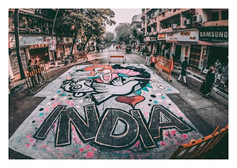 INDIA THE ENDLESS JOURNEY BY GAURAV SINGH   GRV CREATIVE BY CREATION