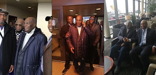 Atiku Abubakar Arrives Washington DC For A Meeting With US Government Officials (Photos)