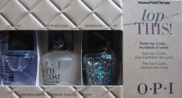 OPI Top This 2013 Holiday Top Coat Gift Set