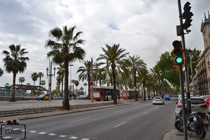 Barcelona - Dzień 4 - Kościoły, La Rambla i plaża