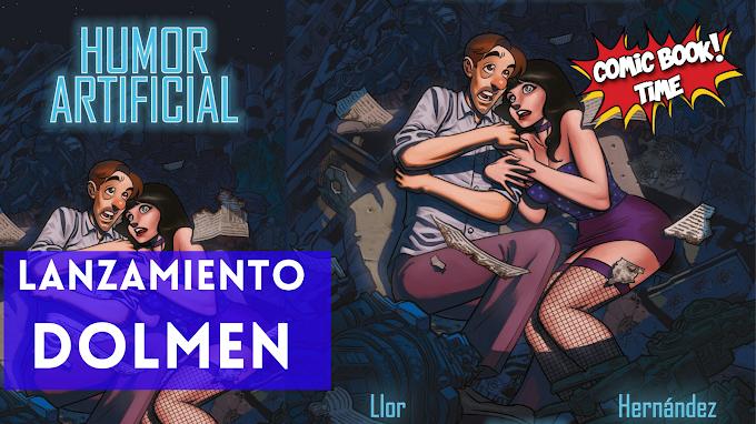 """Lanzamiento Dolmen: """"Humor artificial"""""""