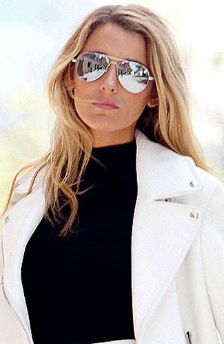 Fashion Blogger: Mirror Sunglasess victim