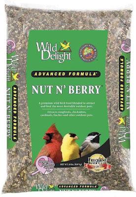 Wild Delight 366200 20-Pound Nut-N-Berry Bird Food
