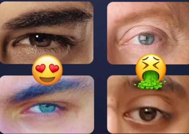 taglio di occhi