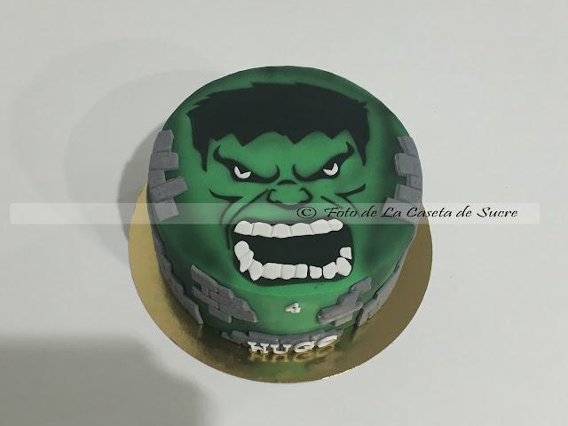 tarta hulk cake 1