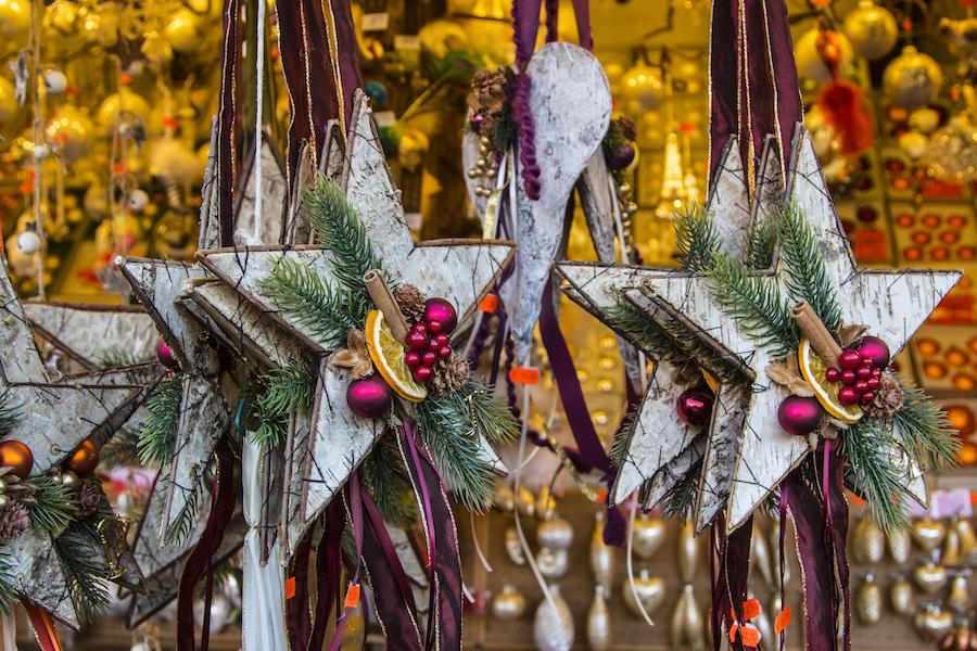 Adorno decorativo en el Mercado de navidad de Ulm