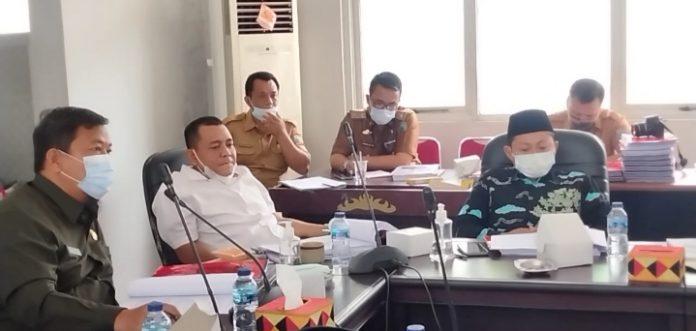 Bapemperda DPRD Lamsel Rapat Bersama Pihak Eksekutif